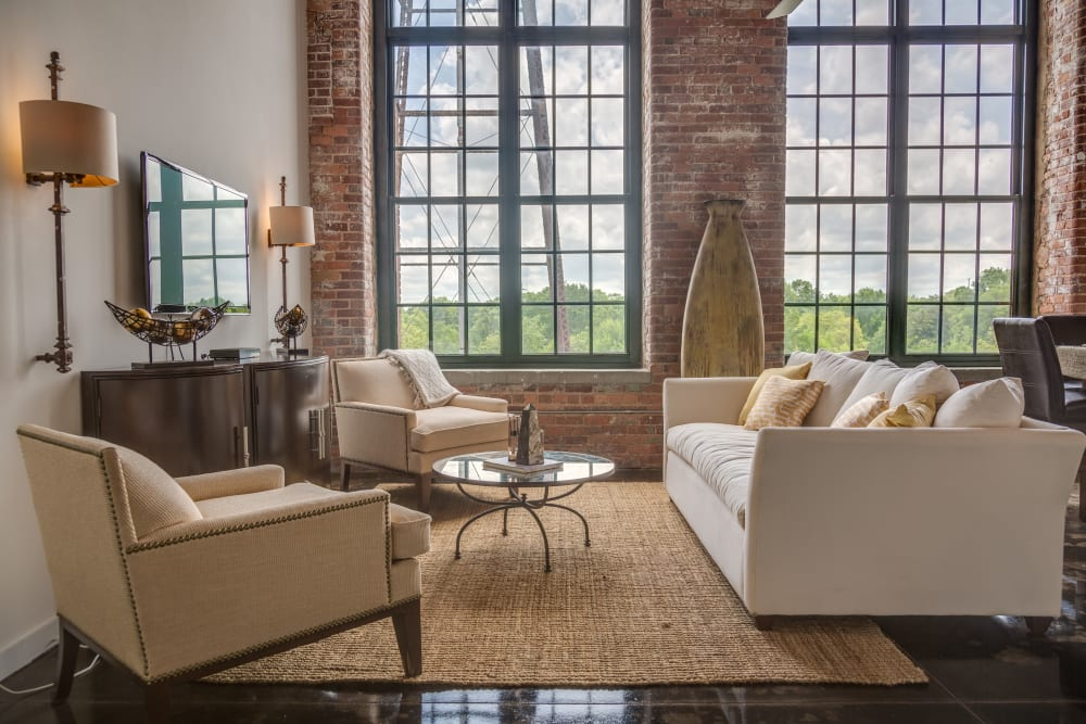 Stunning loft style apartments at The Lofts Of Greenville in Greenville, South Carolina