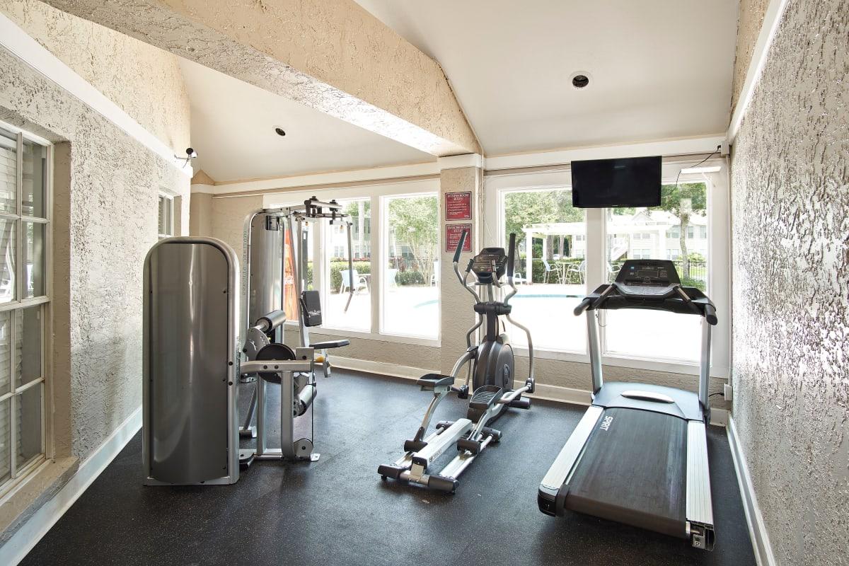 Fitness center at Avenue @Creekbridge in Brandon, Florida