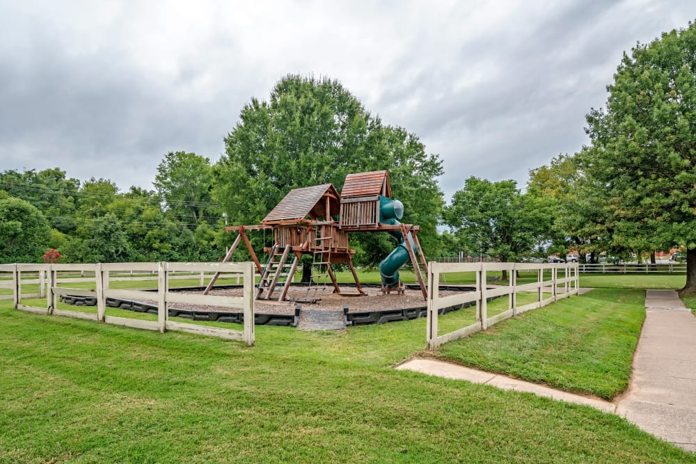 playground at apartments in Gallatin, TN
