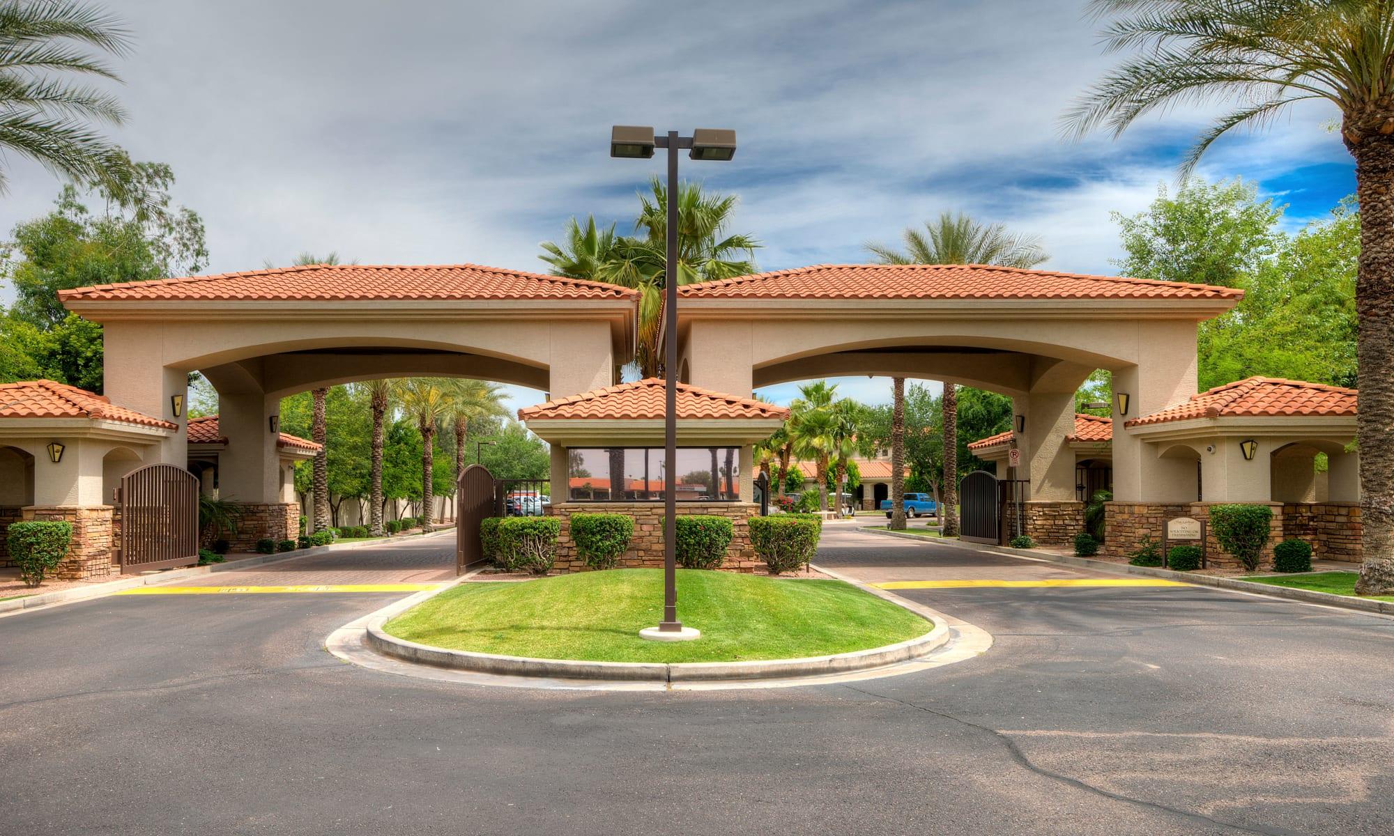 Apartments at San Hacienda in Chandler, Arizona