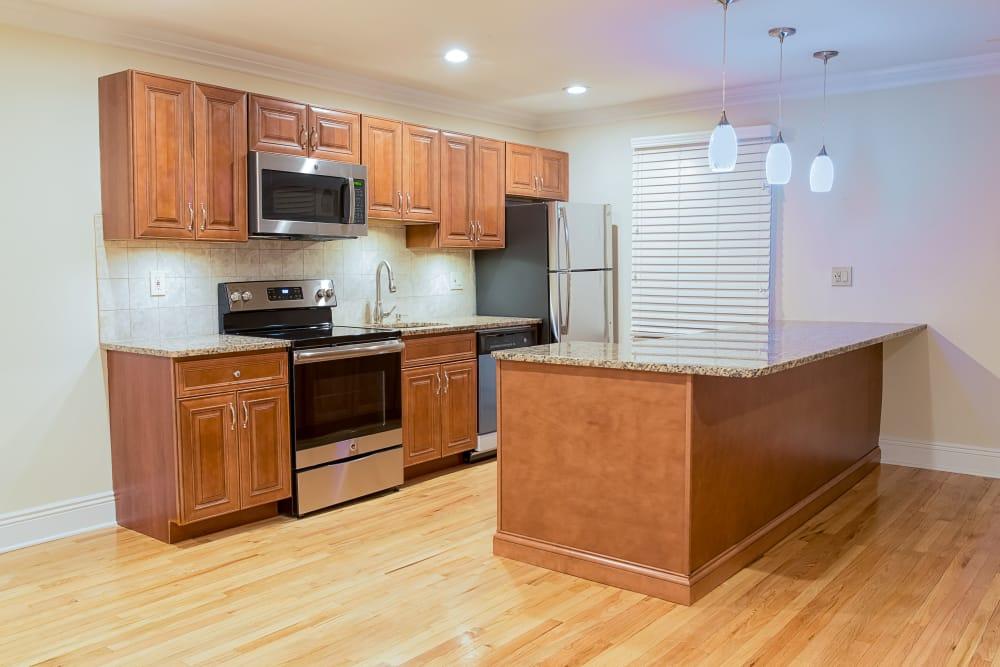 Spacious kitchen at Westfield Hamilton House