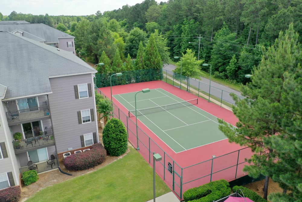 Sports court at Lancaster Place in Calera, Alabama