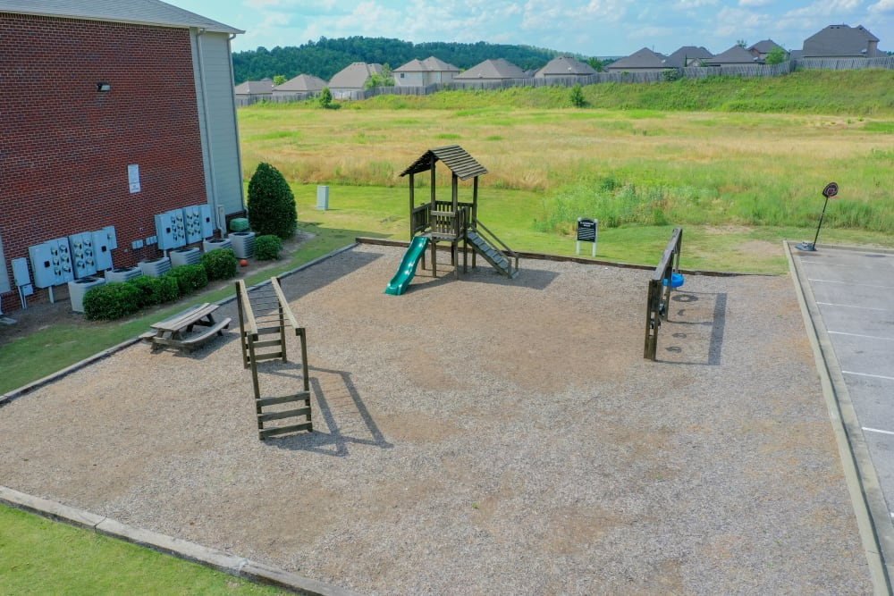 Playground at Lancaster Place in Calera, Alabama
