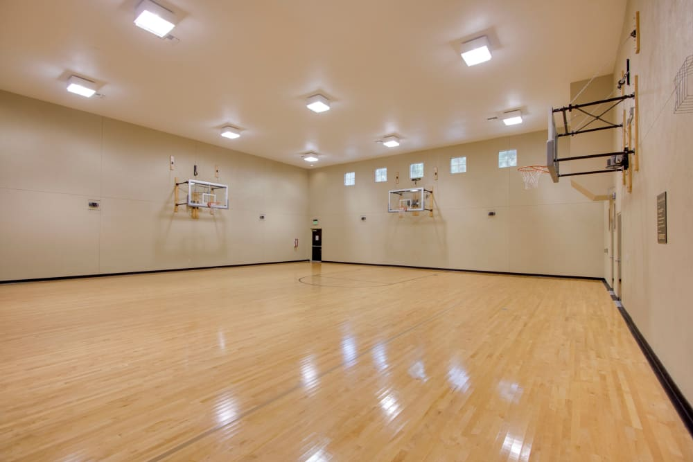 Basketball court at Landings at Four Corners in Davenport, Florida