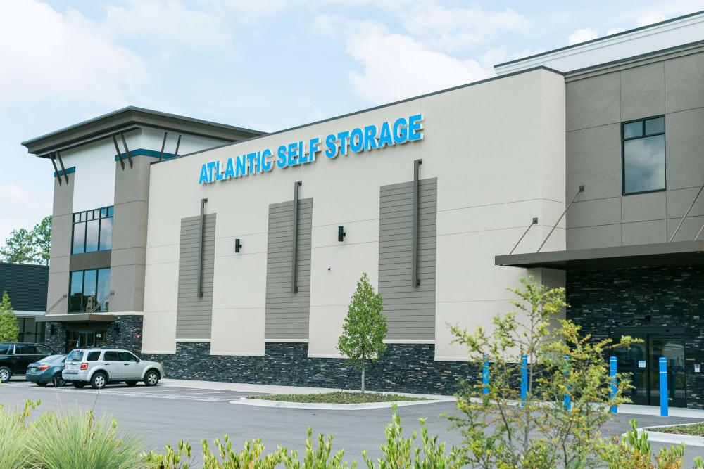 Parking Lot at Atlantic Self Storage
