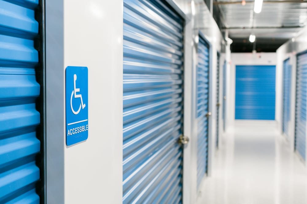 Wheelchair Accessible Indoor Storage Units at Atlantic Self Storage