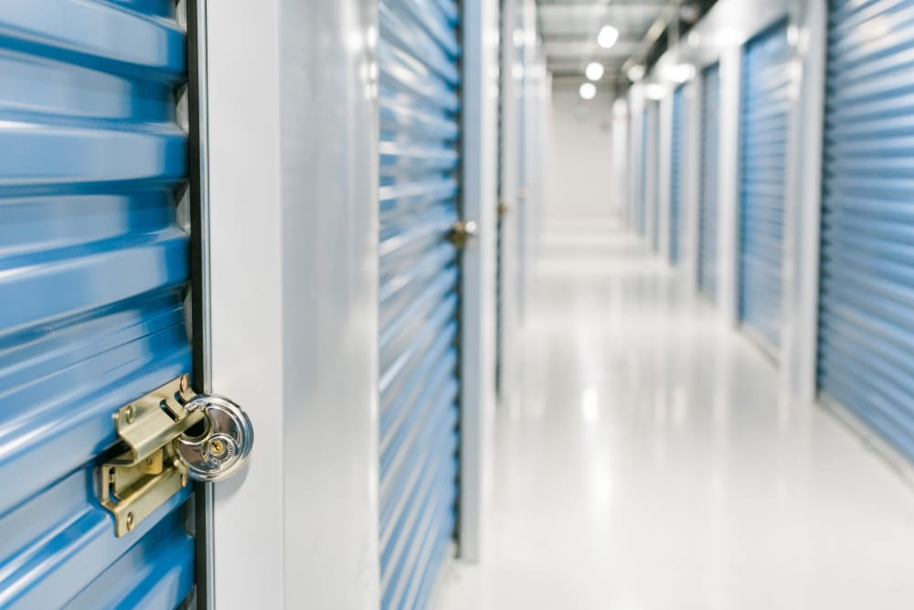 Interior Storage Units at Atlantic Self Storage