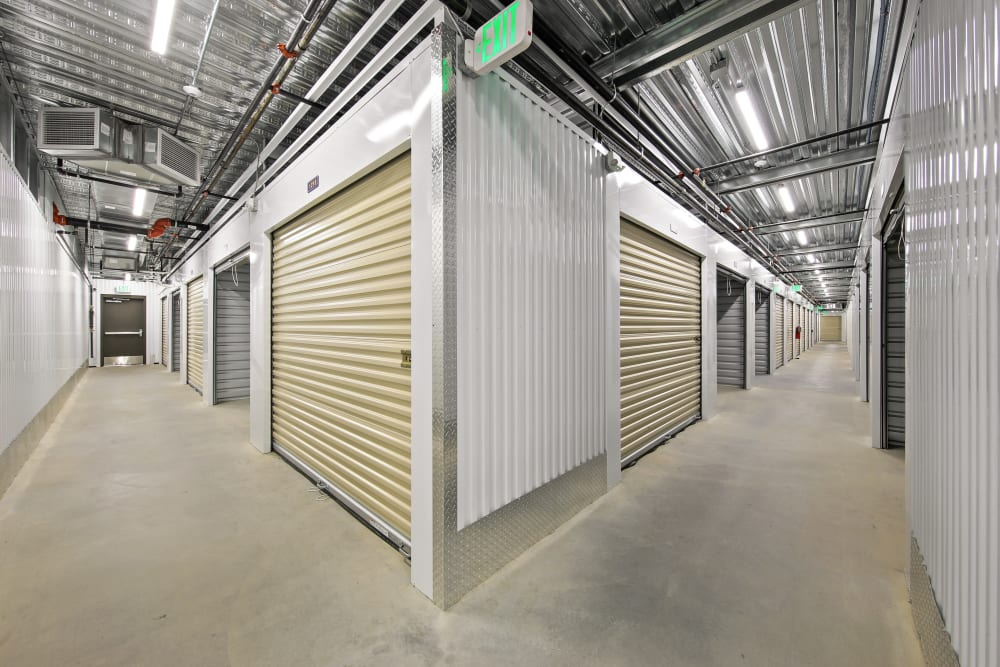Climate controlled units at Storage Star in Napa, California