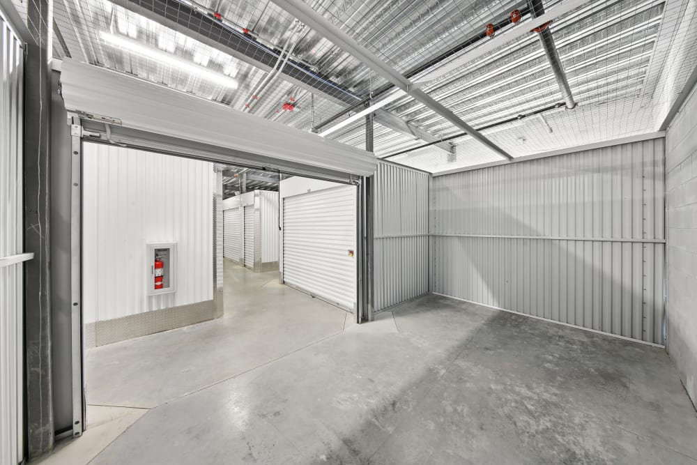 Loading dock at My Neighborhood Storage Center in Tampa, Florida