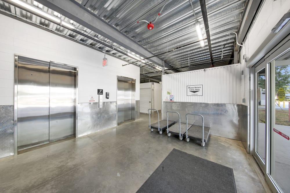Inside of My Neighborhood Storage Center in Tampa, Florida