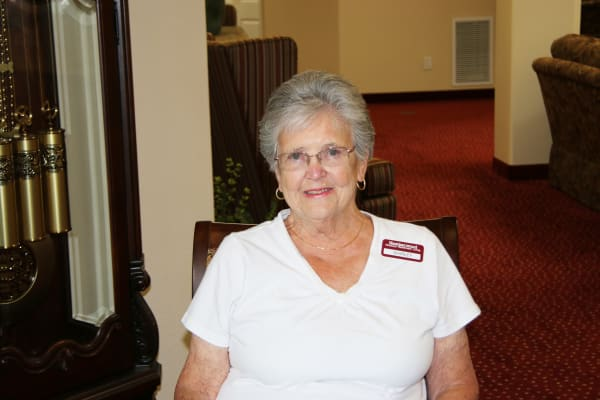 Shirley Donovan at Heatherwood Gracious Retirement Living in Tewksbury, Massachusetts
