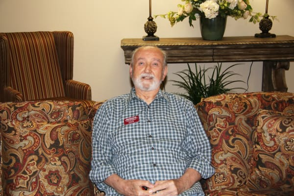 Richard Litalian at Heatherwood Gracious Retirement Living in Tewksbury, Massachusetts