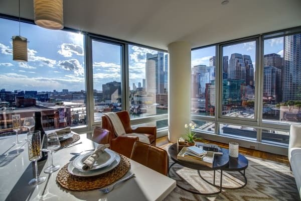 penthouse residences at The Benjamin