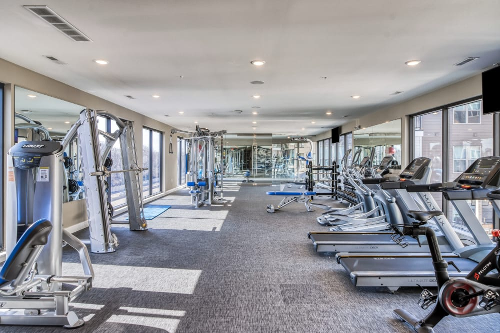 Gym at Tribeca STL | Luxury Apartments in St. Louis, Missouri