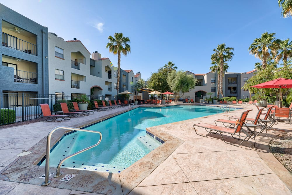 Our Apartments in Phoenix, Arizona offer a Swimming Pool