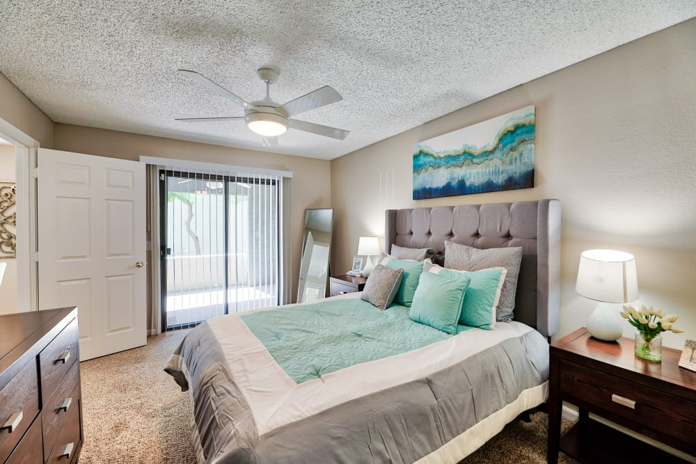 Beautiful Bedroom at Greenspoint at Paradise Valley in Phoenix, Arizona