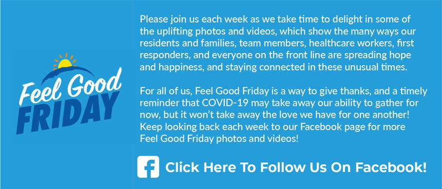Feel Good Friday Information