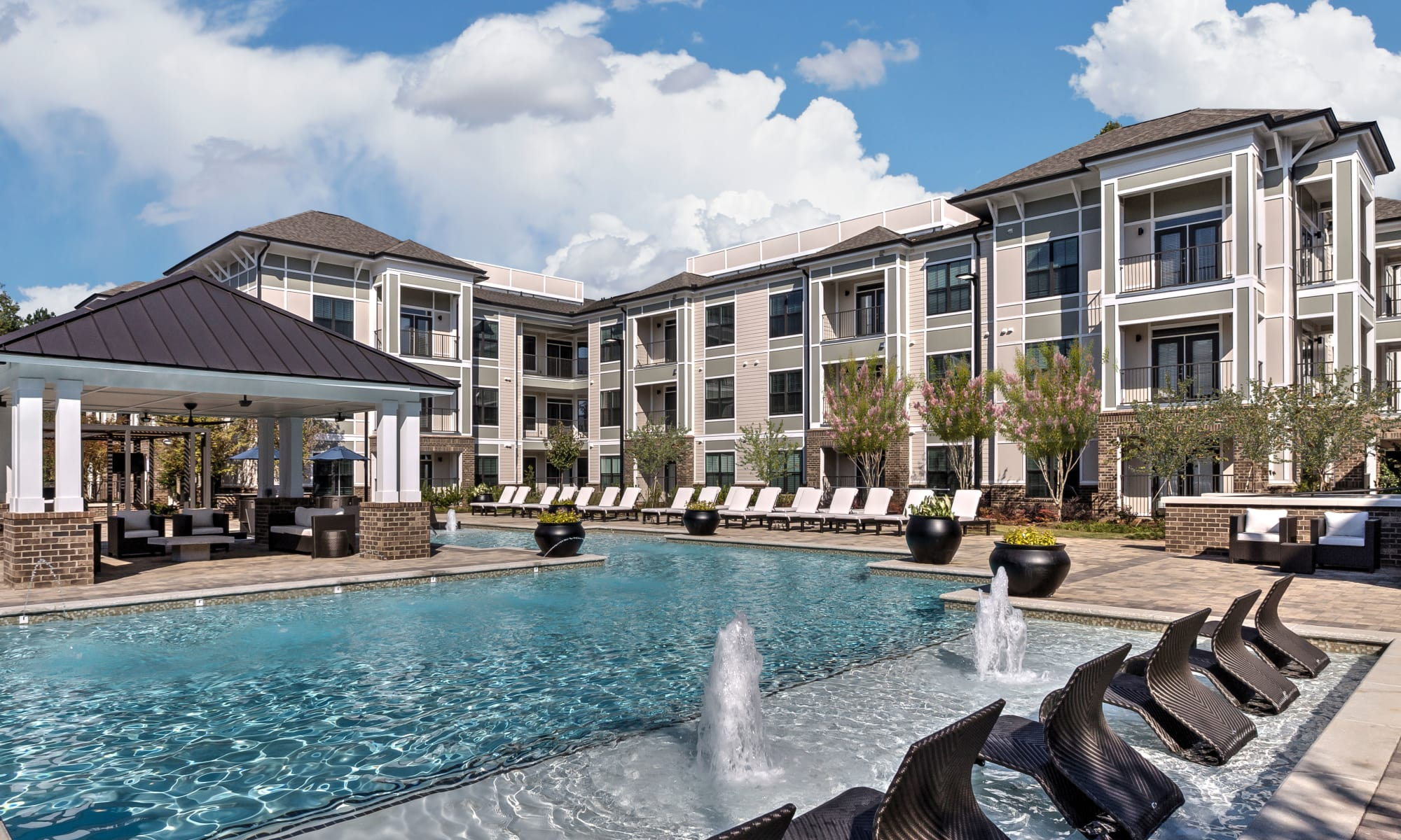 Luxury apartments at Juncture in Alpharetta, Georgia