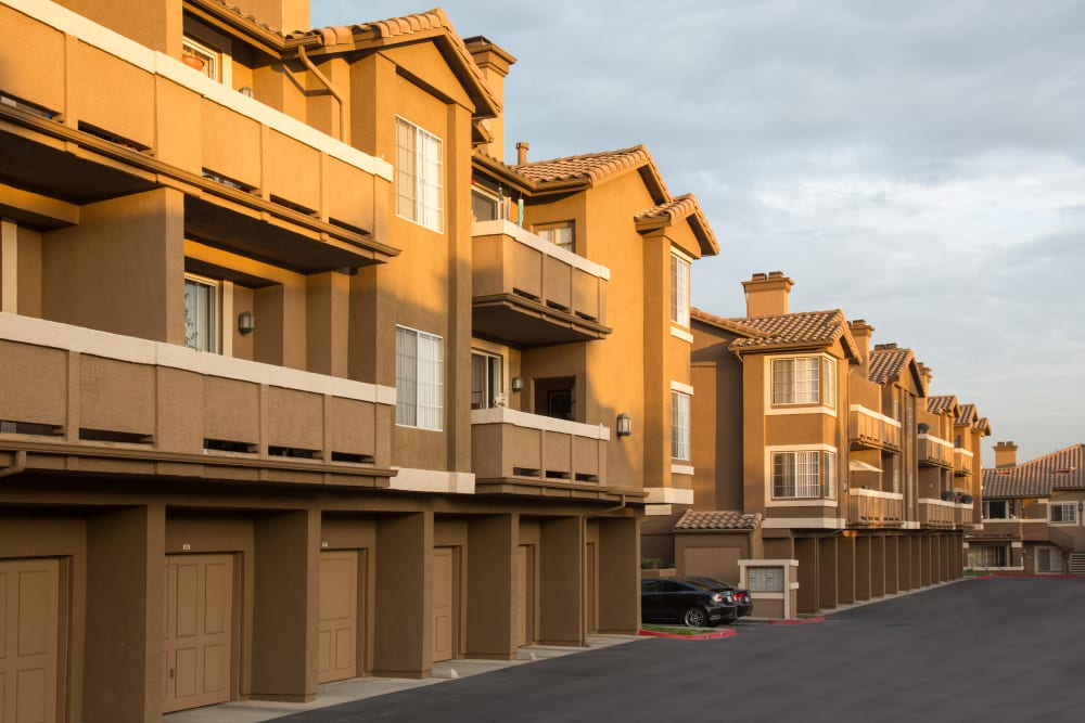Exterior of at Paloma Summit Condominium Rentals in Foothill Ranch, California