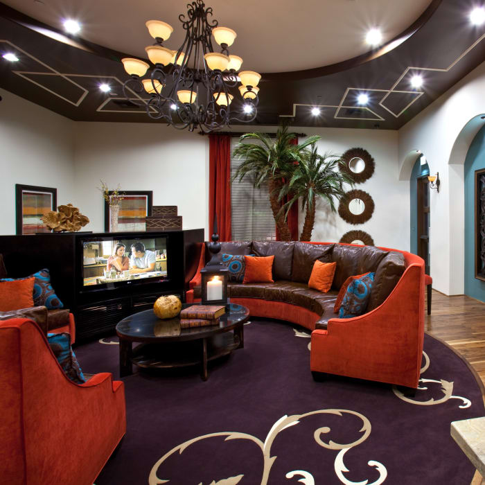 Beautiful clubhouse interior at Mountain Gate & Mountain Trails in Las Vegas