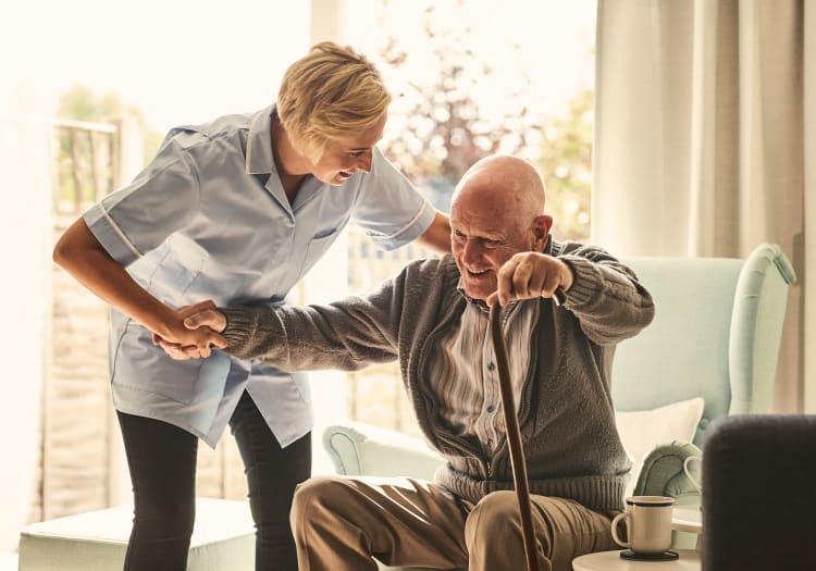 Home for seniors at McDowell Village in Scottsdale, Arizona
