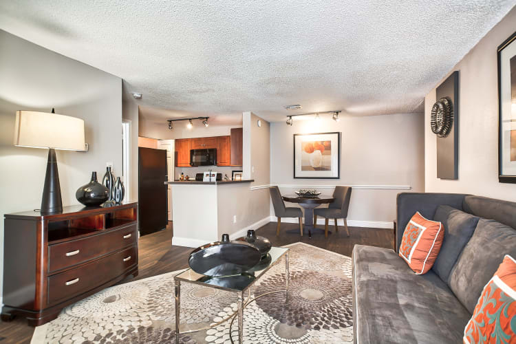 Ample livng spaces at Middletown Brooke Apartment Homes