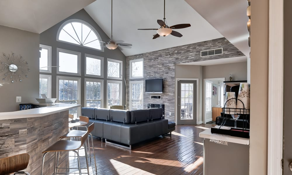 Clubhouse at Abbotts Run Apartments in Alexandria, Virginia