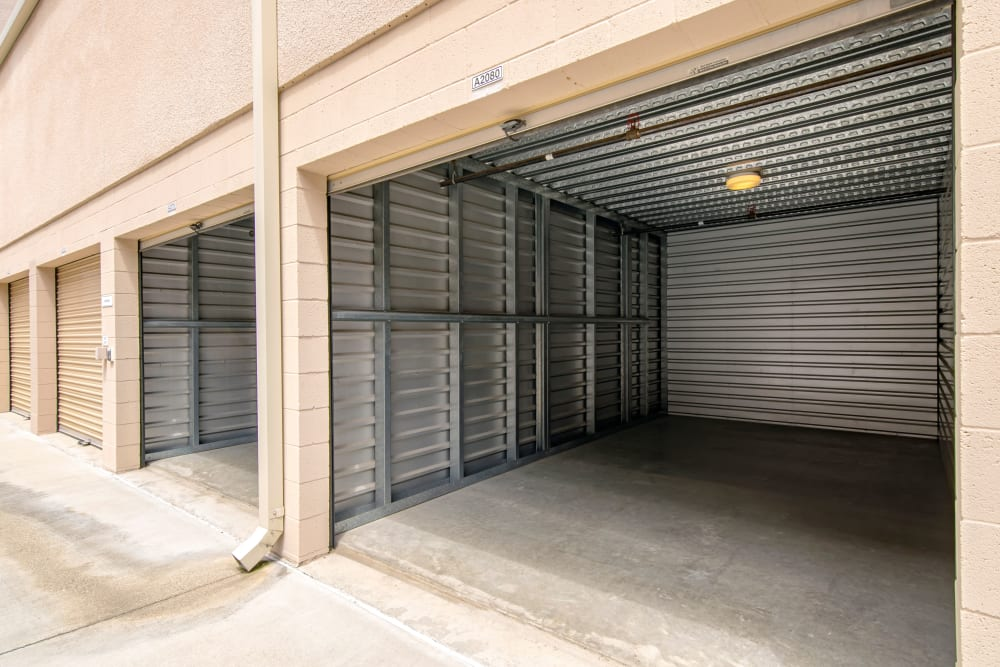 Drive-up unit at Olivenhain Self Storage