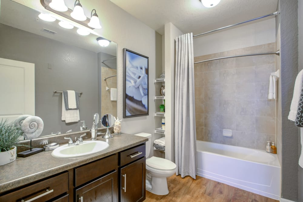 Bathroom at Integra Cove in Orlando Florida