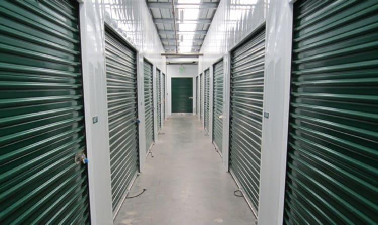 Indoor storage units at Acorn Self Storage - Pittsburg in Pittsburg, California