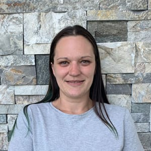 Sarah Compton, Housekeeping at Applewood Pointe Champlin at Mississippi Crossings in Champlin, Minnesota