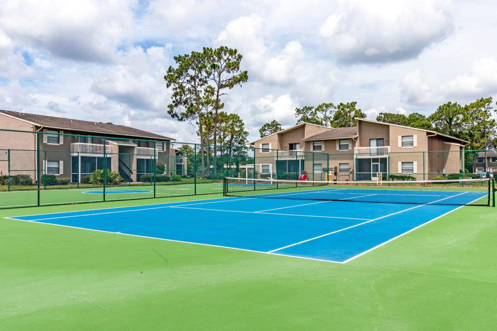 Tennis Court at Arbors at Orange Park
