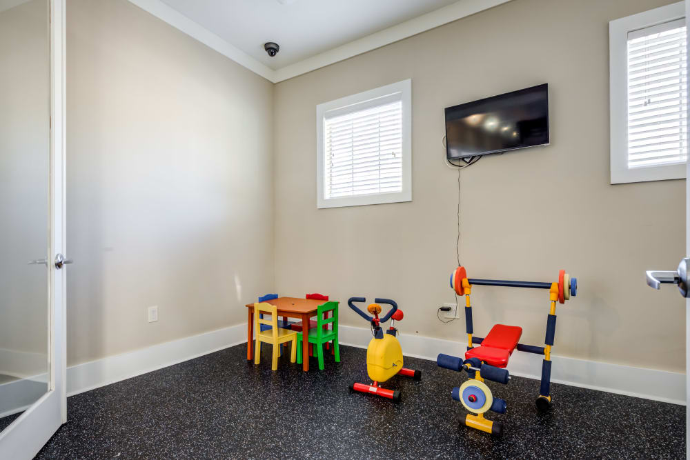Childrens area at Ansley Commons Apartment Homes in Ladson, South Carolina