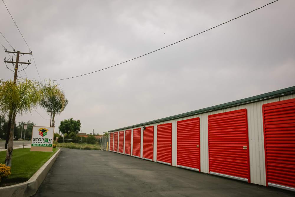 Units at Stor It Self Storage, Visalia