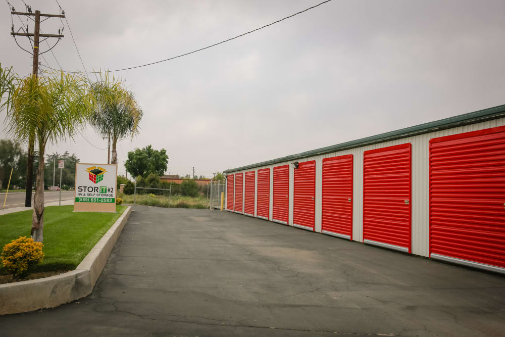 Different Size Units at the Self Storage in Visalia