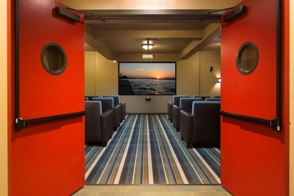 Movie theater at Affinity at Olympia