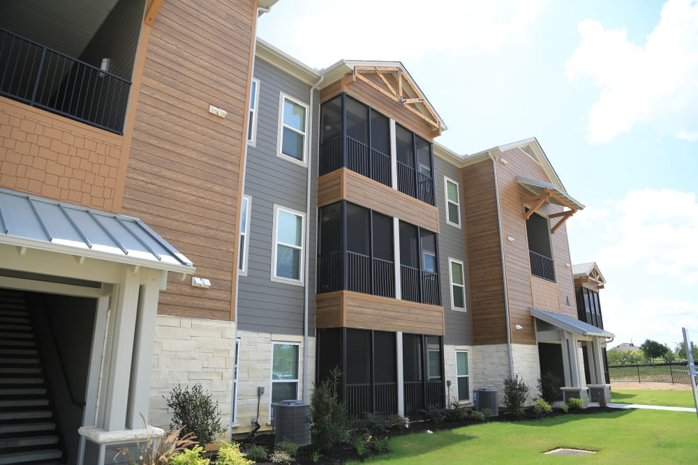 Exterior view at North Village Apartments in Ruston, Louisiana