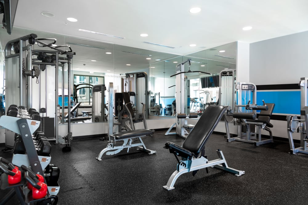 apartments with fitness centers