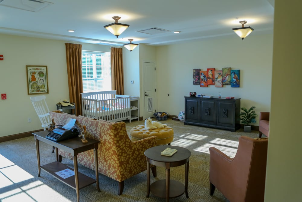 A memory center at Harmony at West Shore in Mechanicsburg, Pennsylvania