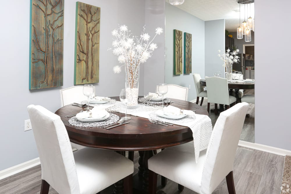 Dining room at Apartments in Louisville, Kentucky