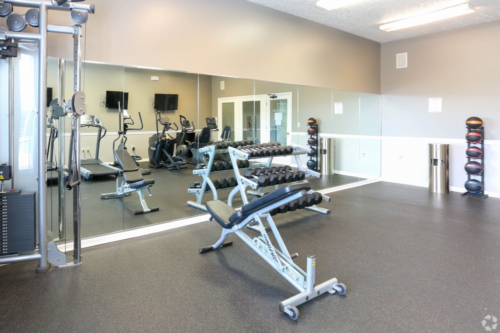Enjoy Apartments with a Fitness Center at Shadow Ridge