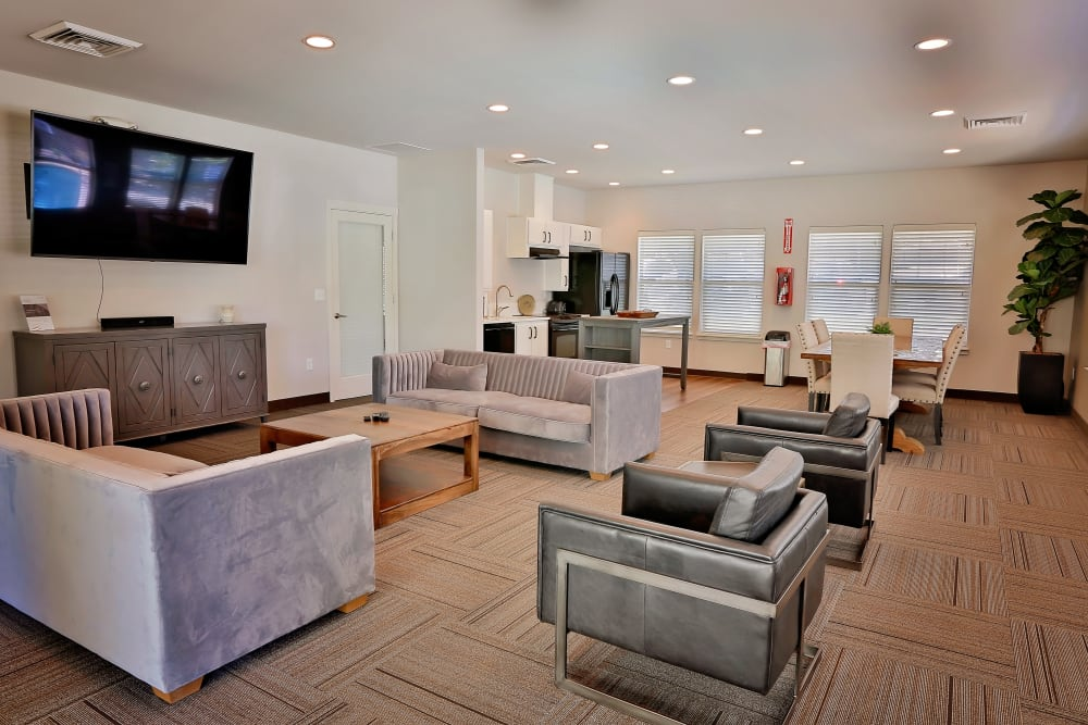 Clubhouse interior at Orchard Ridge in Salem, Oregon