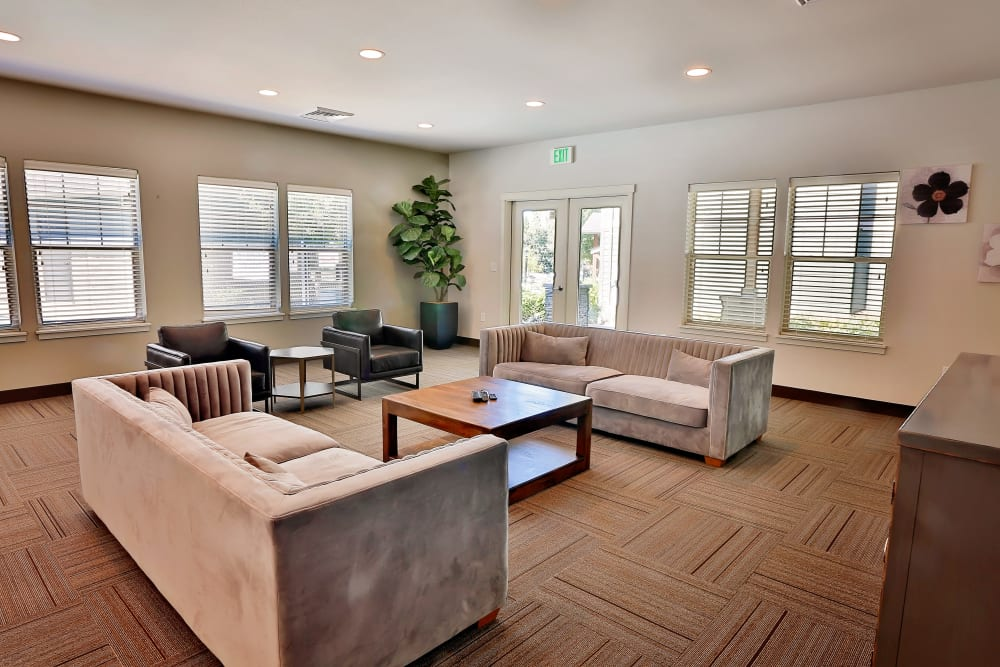 Dining area in the clubhouse at Orchard Ridge in Salem, Oregon