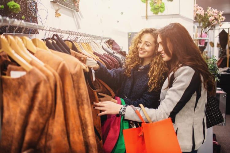 Women shopping in Smyrna near Lexington Park Apartments, Georgia