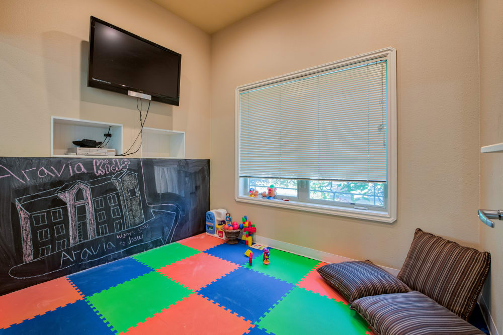 Kid's Corner at Aravia Apartments in Tacoma, Washington