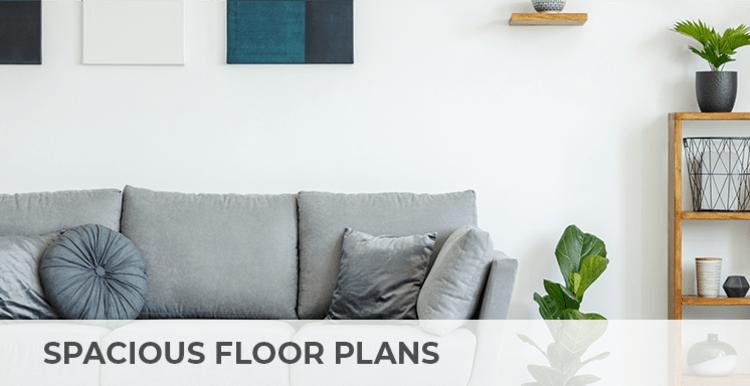 Spacious floor plans at Citron in Ventura, California