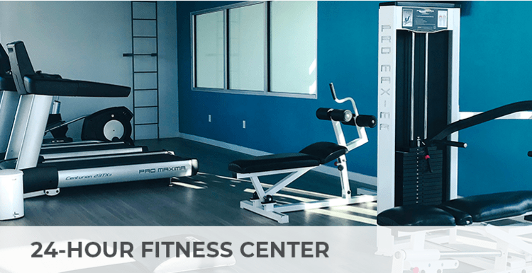 24-hour fitness center with wifi at Citron in Ventura, California
