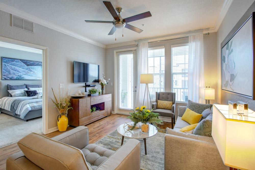 Living Room at Integra Cove in Orlando Florida