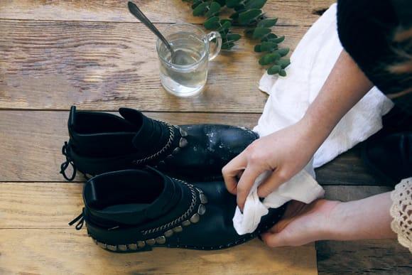 washing salt stains for winter storage