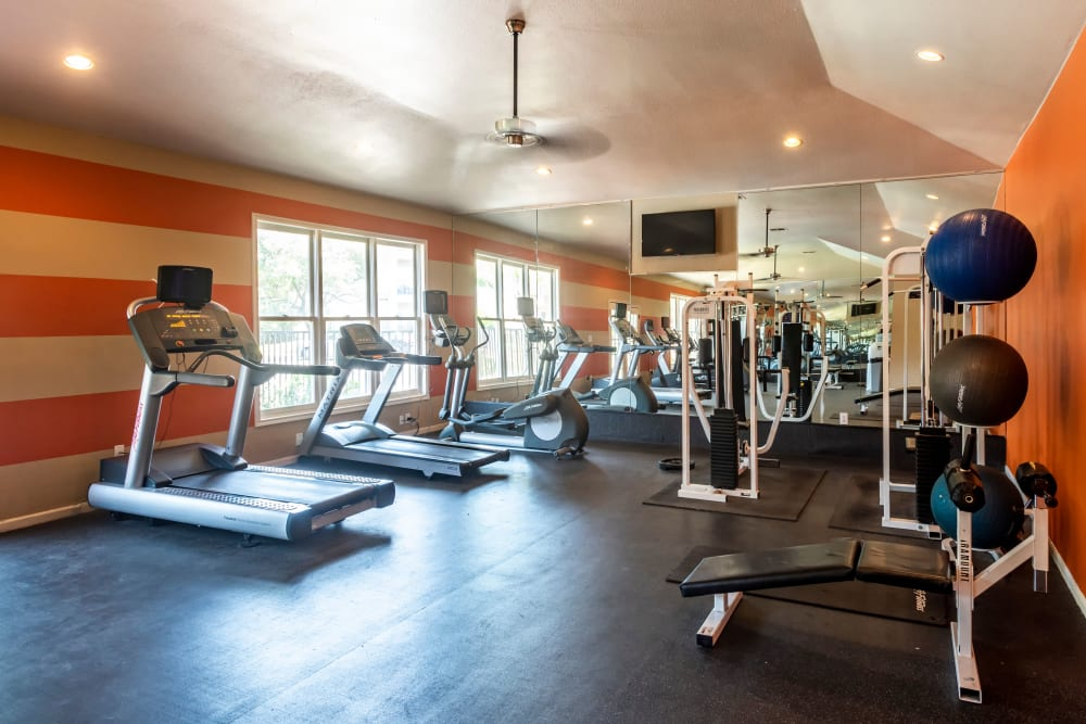 Fitness Center at Salado Springs Apartments
